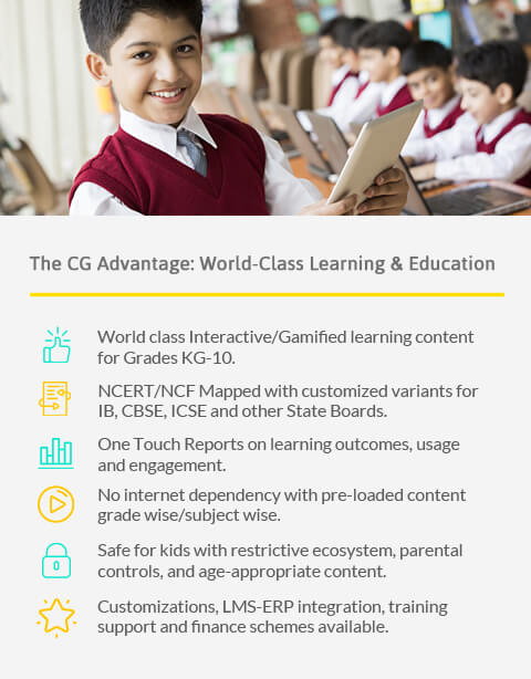 CG Slate - The Smart Learning Solution