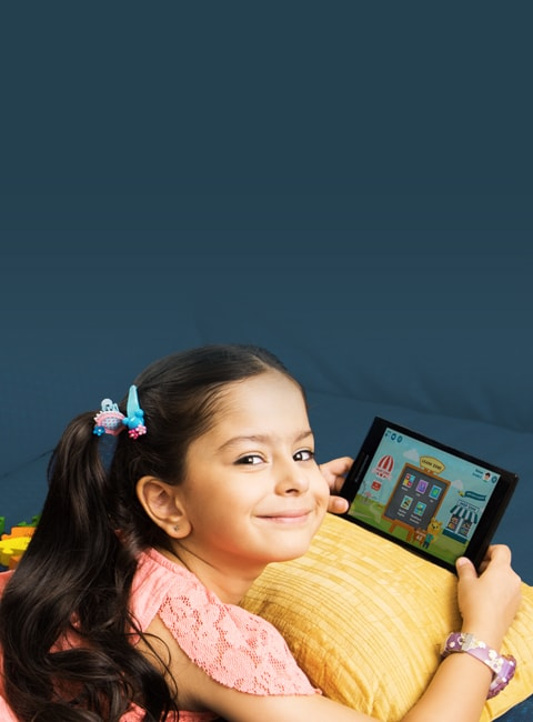 CG Slate helps you take care of your child's learning needs through adaptive content recommendations, advanced parental controls, SMS/Email reports to keep track of his/her progress and know his/her long term interests.